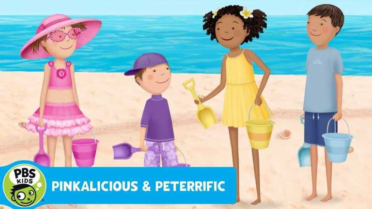 PINKALICIOUS & PETERRIFIC   Sand Castle Competition   PBS KIDS