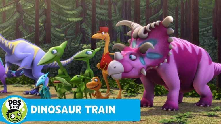 DINOSAUR TRAIN   Crocodile Race   PBS KIDS