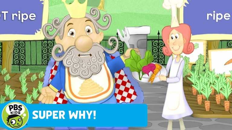 SUPER WHY | Veggie Time for King Eddie | PBS KIDS