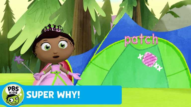 SUPER WHY! | Princess Pesto Patches the Tent | PBS KIDS