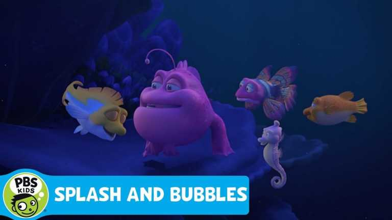 SPLASH AND BUBBLES | Learning About Sleep | PBS KIDS