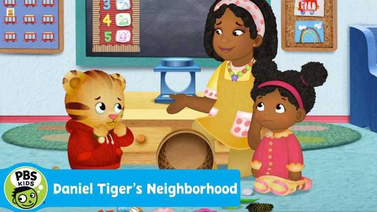 DANIEL TIGER'S NEIGHBORHOOD | Oops- the Basket Fell! | PBS KIDS