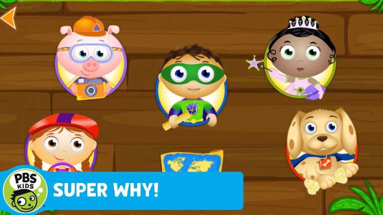 APPS & GAMES | SUPER WHY! ABC Adventures App | PBS KIDS