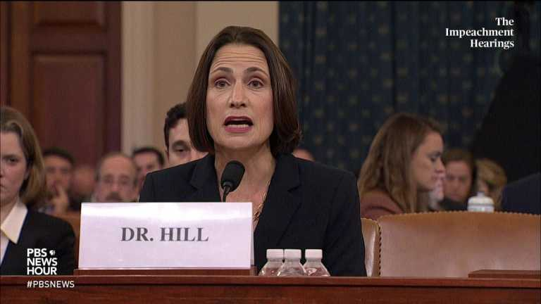 WATCH: Hill says Russia wanted any newly minted U.S. president in 2016 'under a cloud'