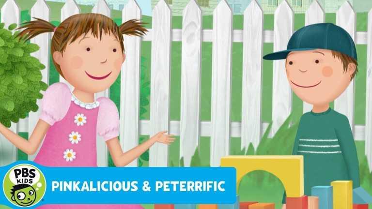 Pinkalicious & Peterrific | Building a FAIRY HOUSE! | PBS KIDS