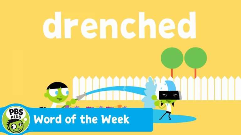 WORD OF THE WEEK | Drenched | PBS KIDS