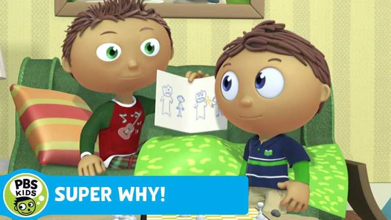 SUPER WHY! | Whyatt Doodles a Picture | PBS KIDS
