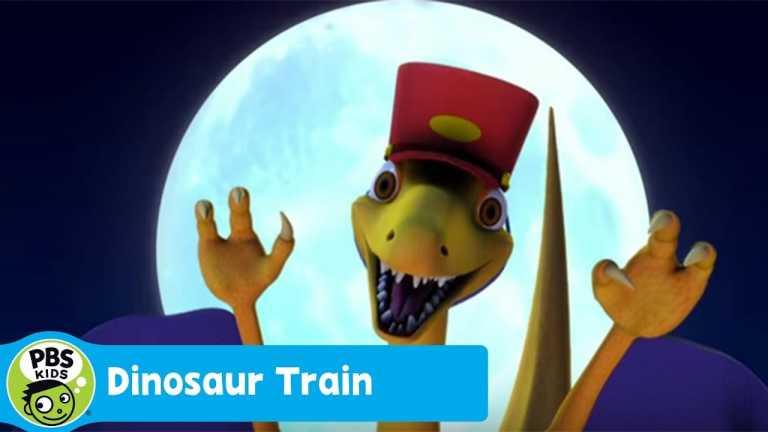 DINOSAUR TRAIN | Troodon Night Train (Song) | PBS KIDS
