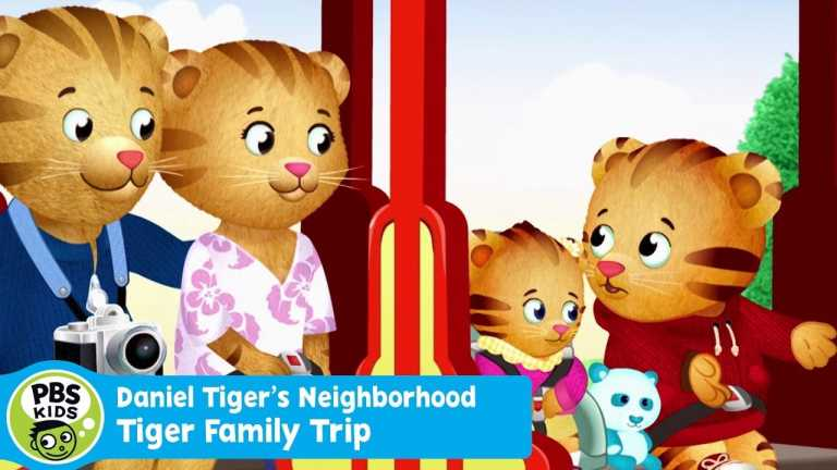 DANIEL TIGER'S NEIGHBORHOOD | Buckle Up for the Tiger Family Trip Special on May 8th | PBS KIDS
