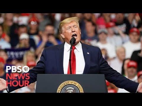 WATCH: Trump holds rally in Mississippi amid impeachment inquiry