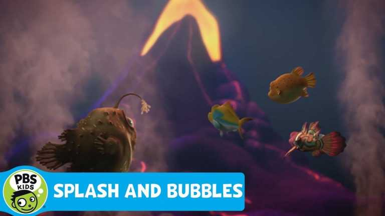 SPLASH AND BUBBLES | Magnificent Magma | PBS KIDS