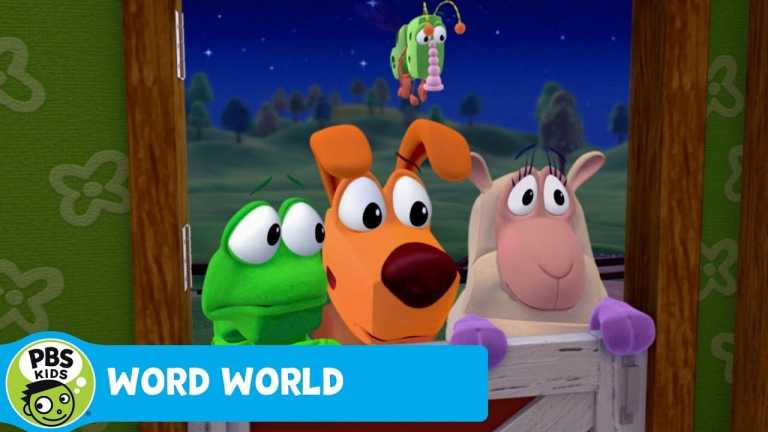 WORD WORLD   The ghost STOLE our letters!   PBS KIDS