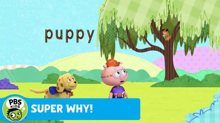SUPER WHY! | Finding Checkers the Puppy | PBS KIDS