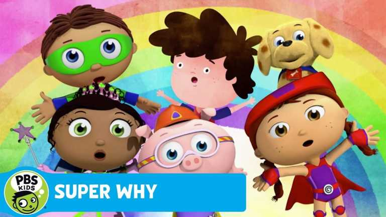 SUPER WHY! | The Rainbow Song | PBS KIDS
