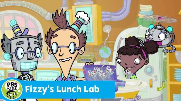 FIZZY'S LUNCH LAB | Robofizz 2000 | PBS KIDS
