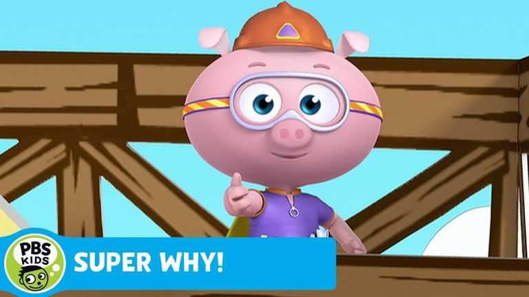 SUPER WHY! | Alpha Pig Builds Alphabet Steps | PBS KIDS