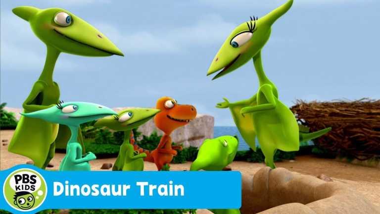 DINOSAUR TRAIN | Camouflage Cloak | PBS KIDS