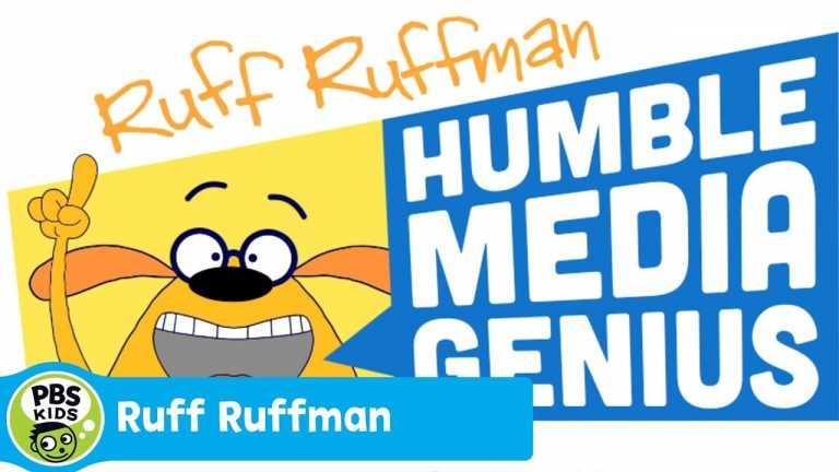 RUFF RUFFMAN | Meet Ruff Ruffman: Humble Media Genius | PBS KIDS