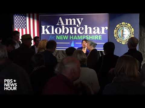 WATCH LIVE: 2020 presidential candidate Amy Klobuchar holds town hall in Rochester, New Hampshire