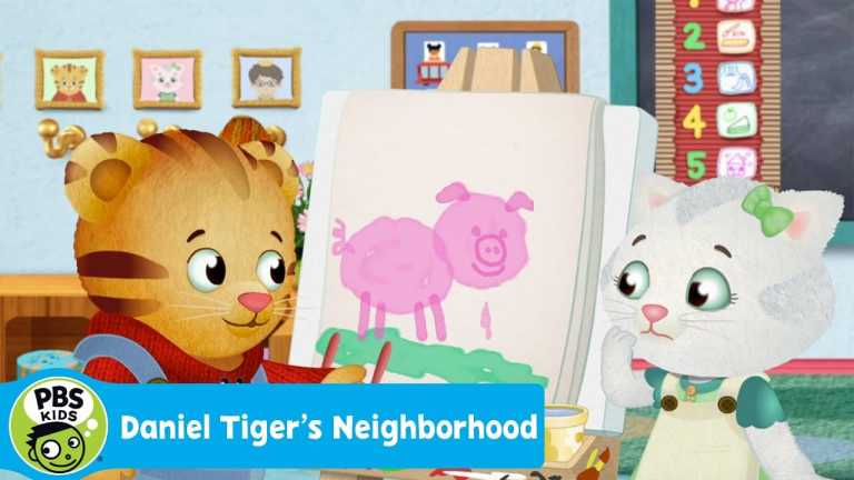 DANIEL TIGER'S NEIGHBORHOOD | Katerina's Painting Mistake | PBS KIDS