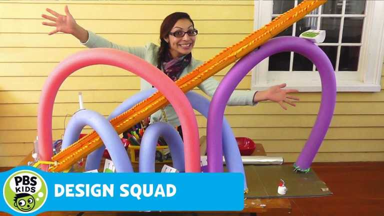 DESIGN SQUAD | Figit Coaster | PBS KIDS