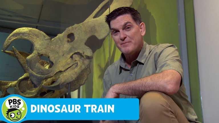 DINOSAUR TRAIN   Dinosaur Discoveries: Horned Dinosaurs   PBS KIDS