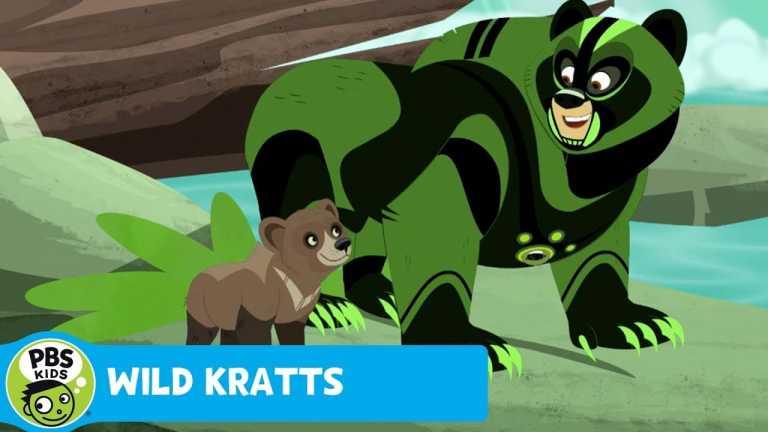 WILD KRATTS   Fishing   PBS KIDS