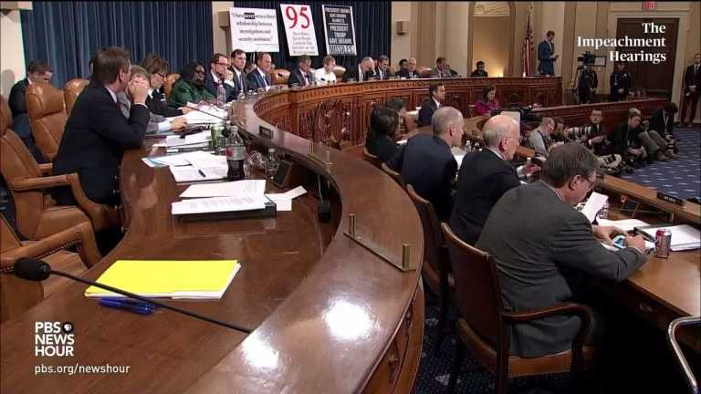WATCH: Rep. Peter Welch's full questioning of Amb. Yovanovitch | Trump impeachment hearings
