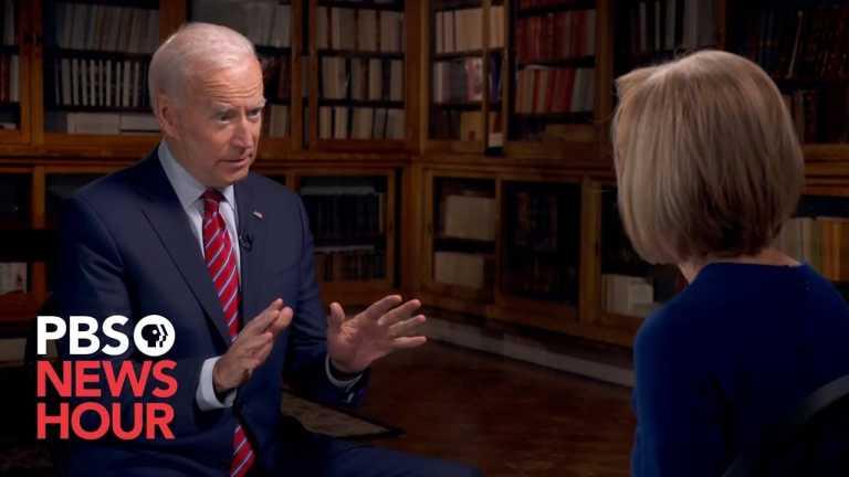 WATCH: Joe Biden believes Trump is involved in a cover up over Ukraine