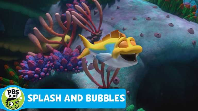 SPLASH AND BUBBLES!   Catch the One Big Ocean Premiere on January 16th!   PBS KIDS