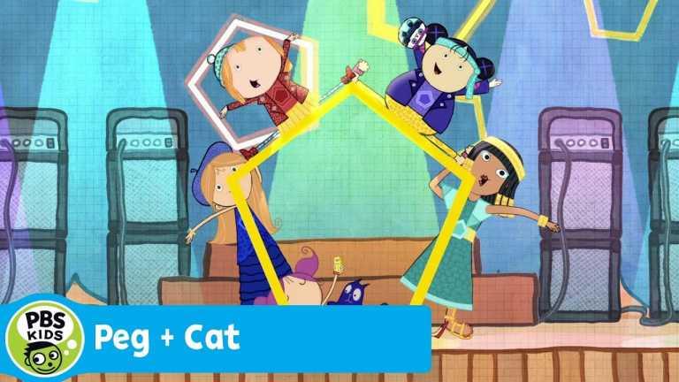 PEG + CAT | The Pentagirls (Song) | PBS KIDS