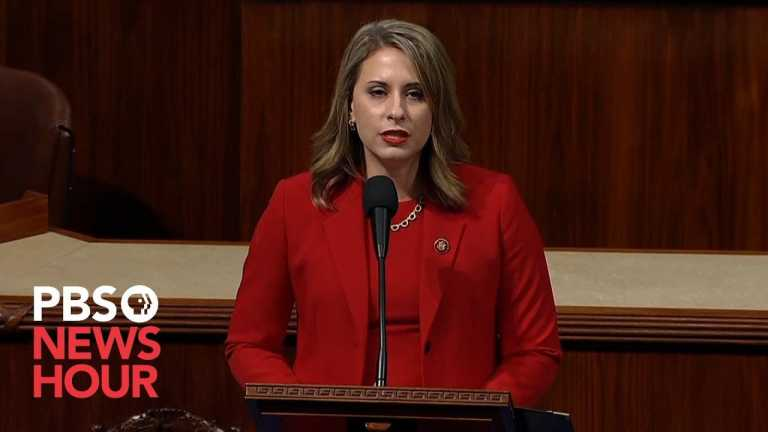 WATCH: Rep. Katie Hill's full farewell speech on House floor