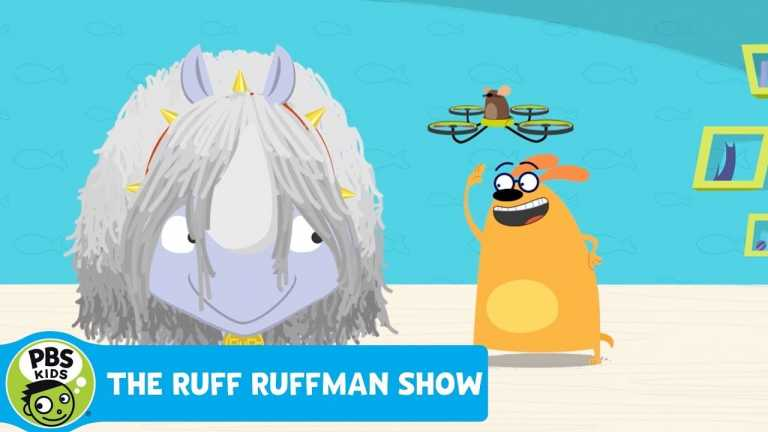 THE RUFF RUFFMAN SHOW | Pet-Sitting Tip #3: Turn Your Rhino Into a Dog | PBS KIDS