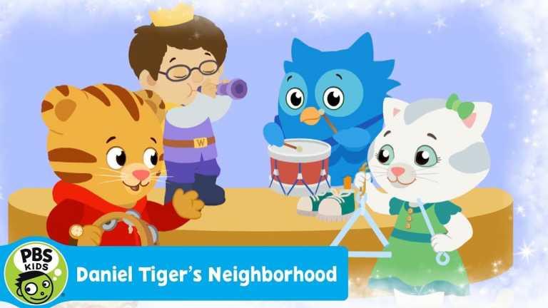 "DANIEL TIGER'S NEIGHBORHOOD   ""Sharing is Fun for Me Too"" song   PBS KIDS"