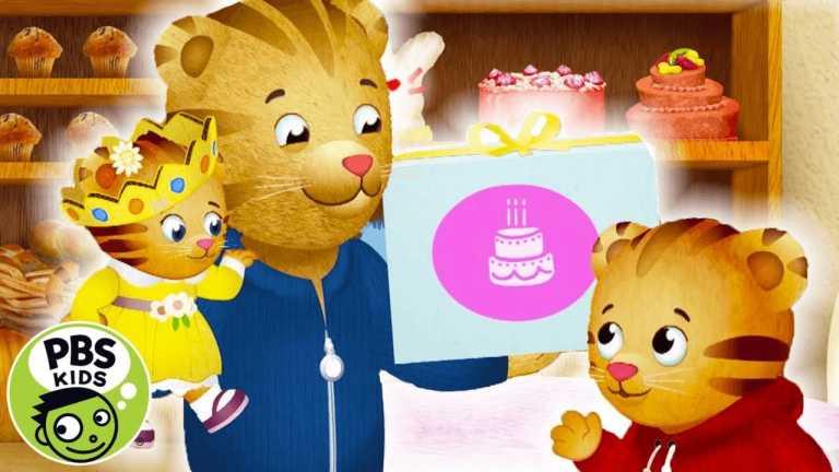Daniel Tiger's Neighborhood   Baby Margaret's Birthday Cake!   PBS KIDS