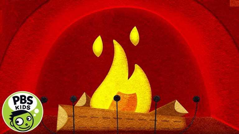 🔥Cozy Felt Fireplace! 🔥  PBS KIDS