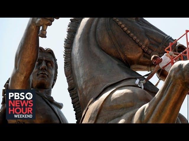 Politics and architecture intersect in North Macedonia
