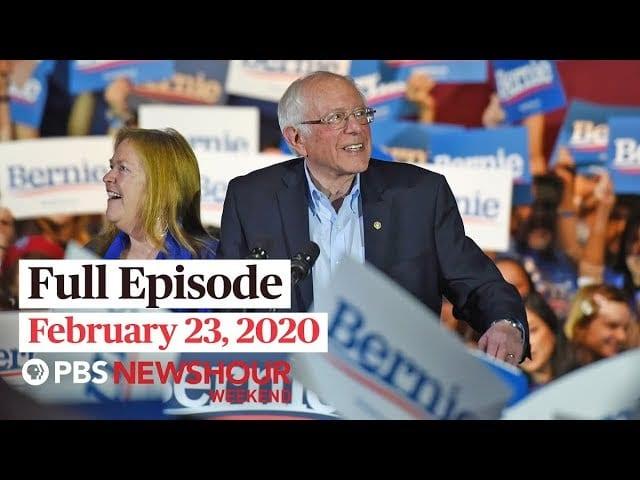 PBS NewsHour Weekend full episode February 23, 2020