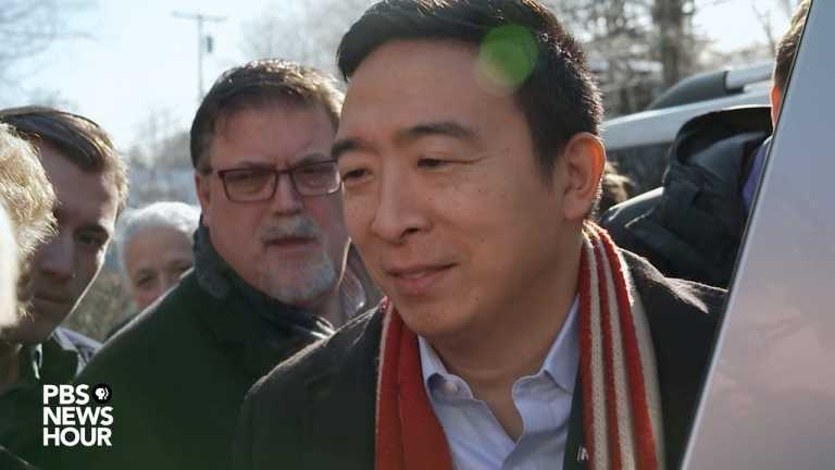 WATCH: Yang on what New Hampshire voters are looking for