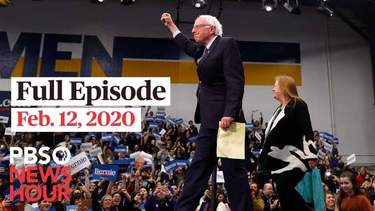 PBS NewsHour West live episode, Feb 12, 2020