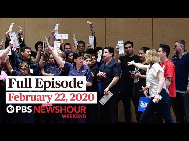 PBS NewsHour Weekend full episode February 22, 2020