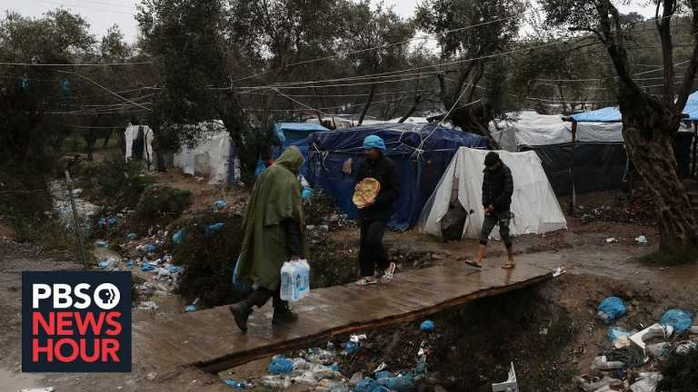 In these parts of Greece, crisis is building between residents and migrants