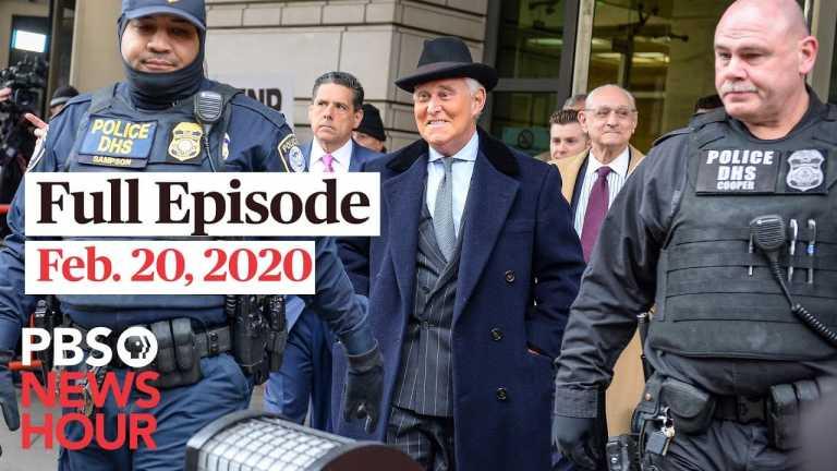 PBS NewsHour full episode, Feb 20, 2020