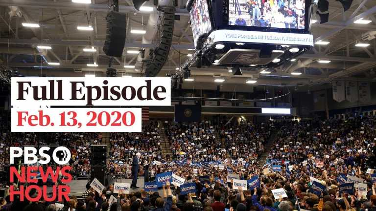 PBS NewsHour West live episode, Feb 13, 2020