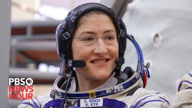 WATCH LIVE: Astronaut Christina Koch discusses her record-long spaceflight