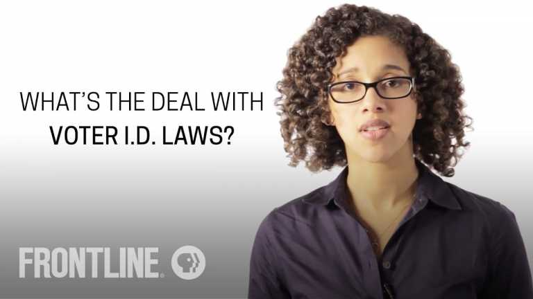 Why Are Voter ID Laws So Controversial? FRONTLINE Answers Your Questions