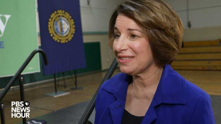WATCH: Klobuchar tells voters to 'look at me as a fresh face'