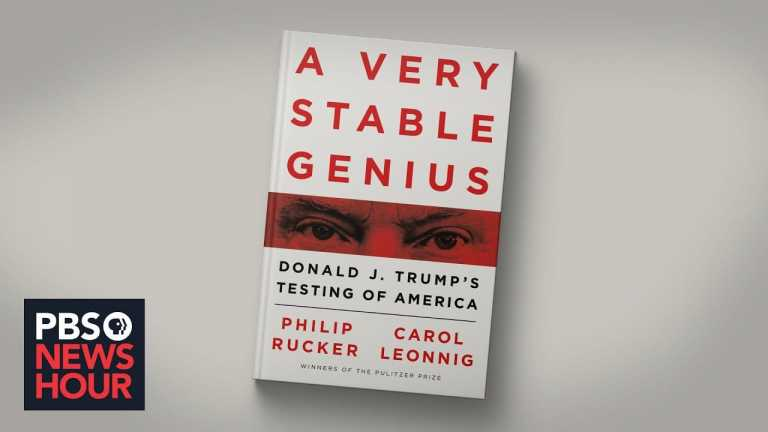 'A Very Stable Genius' illuminates administration officials' worries about Trump