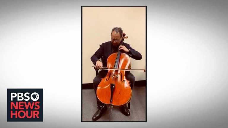 Yo-Yo Ma's musical effort to share #SongsofComfort amid coronavirus