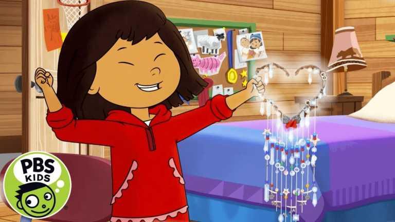 Molly of Denali   How to Make a SUN CATCHER! 🌈☀️  PBS KIDS